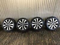 "Genuine 17"" Volkswagen Golf GTD MK6 Seattle alloy wheels - 5x112 - will fit Audi, seat, Skoda etc"