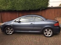 Peugeot 307 CC 2.0 16v Sport 2dr, very low mileage, two owners from new, immaculate condition
