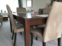 Dinning table and Side board