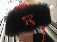 Girls Russian hats