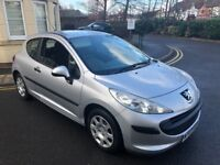 PEUGEOT 207 1.4 DIESEL,£30 TAX FOR YEAR,9 MONTHS MOT,VERY ECONOMICAL.