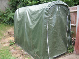 Motorcycle bike shelter / garden storage 2.6mx1.6mx2m