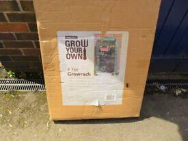 Grow rack. 4 Tier Grow rack Brand New unopened.