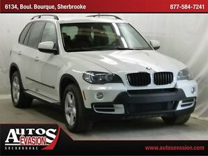 2008 BMW X5 3.0si + 7 PLACES + CUIR + GPS + BAS KILO