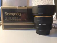 Samyang Fisheye Lens 8mm F3.5 for Nikon