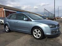 2005 FORD FOCUS ZETEC CLIMATE NEW CLUTCH*NEW MOT 5 DOOR *SERVICE HISTORY* 1 KEEPER*ALLOYS*AIR CON