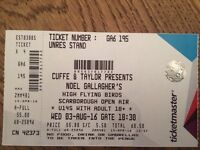 Noel Gallagher's High Flying Birds tickets Scarborough Open Air Theatre