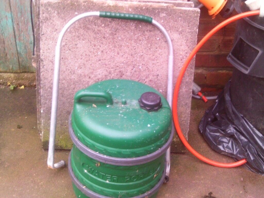 caravan gree water aqua roll with handel   in Castle Bromwich, West ...