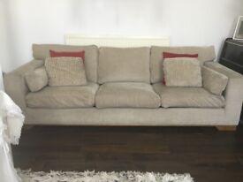 Beautiful and stylish 4 seater sofa;