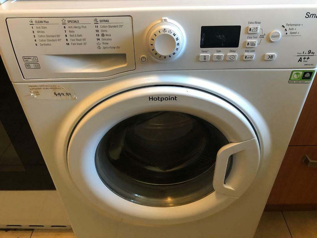 35e8959132e61 Hotpoint Smart washing machine nearly new. Wolverhampton ...
