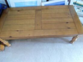 LONG 4FT COFFEE TABLE