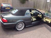 BMW 330 ci M sport Convertible Individual Spec