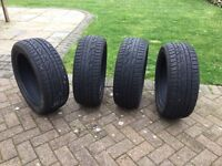 4 Hankook tyres m and s