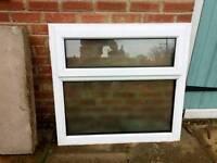 UPVC Double Glazed Bathroom Window