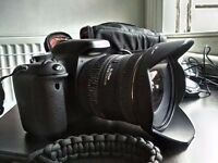 Canon 600D with Sigma 10-20 f4-5.6