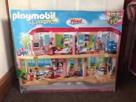 Brand new in sealed box, Playmobil summer fun hotel 5265