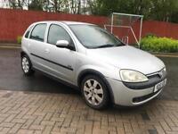 Vauxhall Corsa 1.2 SXI 2001 *low mileage* *full service history* *long mot* not polo focus car cheap