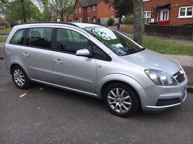 Vauxhall zafira 2005 new shape