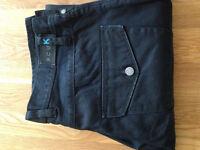 "FCUK Carpenter Style Regular Fit Men's Jeans (34""W x 32""L) (never worn)"