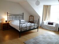 Huge stunning, fully furnished double bedroom in massive, quiet, Dennistoun flat £360 pcm CityCentre