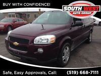 2008 Chevrolet Uplander ((ASK ABOUT NO PAYMENTS FOR 90 DAYS oac)