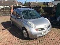 Nissan Micra 1.0L Silver, Beautiful car for a learner driver