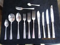 James Ryals 76 Piece Silver Plated Cutlery Set - EPNS A1