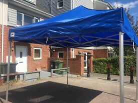 Gala Tent. Pro 50. 3x 3 M .Excellent Condition,used twice only, all side walls included.