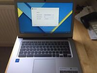 Acer Chromebook CB3-431-C9WH 14 Inch Intel 1.6Ghz 2GB 16GB - Silver - Brand New