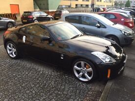 Nissan 350Z 3.5 V6 313GT. RARE SPEC coupe with sought after Alezan heated leather seats.