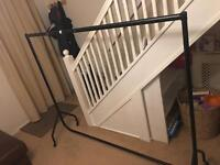 6ft clothes rail , car boots , markets , moving house