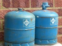 2 Camping Gaz cannisters