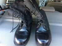 Wellco us army hot weather Boots size 11
