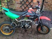 110cc pitbike