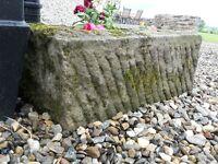stone troughs/ planters