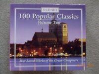 Popular Classics 5 CD set