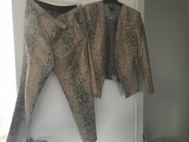 Top shop ladies suit size 12
