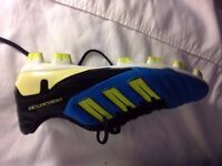 Adidas Predator Adipower football boots size 10. Firm Ground/short blades. £30 ONO