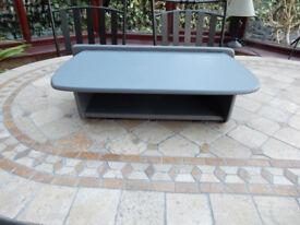 Shabby Chic Grey Solid Wood Shelf