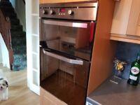 Kitchen units plus appliances and worktops. Intgrated fridge freezer, oven, hob and dishwasher.