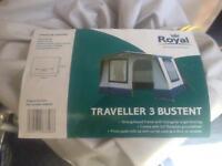 Brand new Royal Traveller 3 Bustent drive away awning for Volkswagen transporter campervan etc