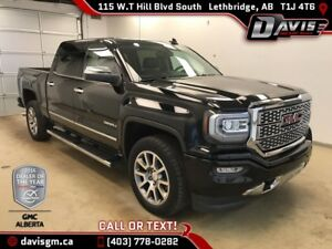 2016 GMC Sierra 1500 Denali 4WD, HEATED/COOLED LEATHER, NAVIG...