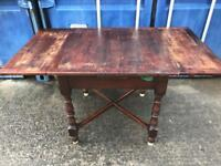 Vintage oak extending dining table FREE DELIVERY PLYMOUTH AREA