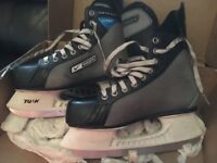 NIKE BAUER ICE SKATES- ideal first / practice skates