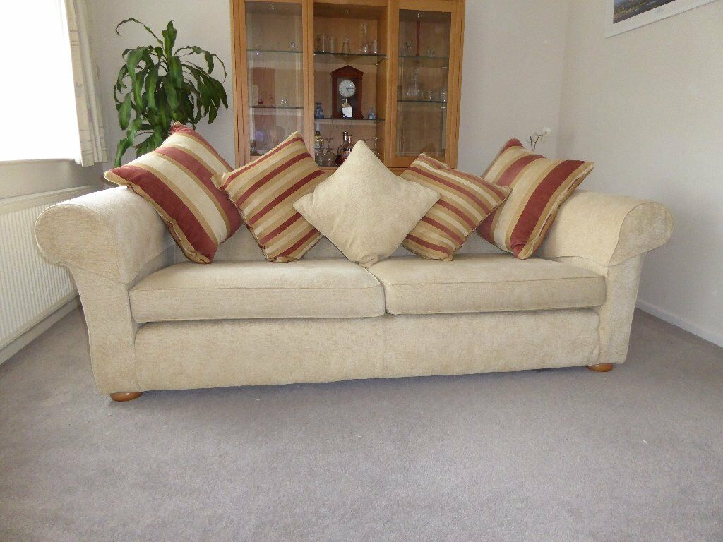 2 Multi York Sofas In The Randolf Style Complete With Ter Cushions And Arm