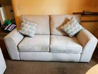 2 Seater couch and Chair, Grey
