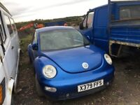Volkswagen Beetle petrol breaking parts available