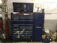 SnapOn reaper toolbox and locker
