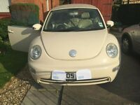 GREAT VOLKSWAGEN BEETLE CONVERTIBLE, FULL SERVICE HISTORY
