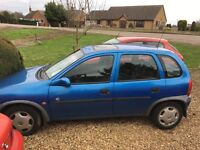 Vauxhall Corsa 1.2 16v £250 ono